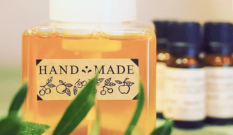 完全無添加・植物油100% 手作り石鹸シャンプー